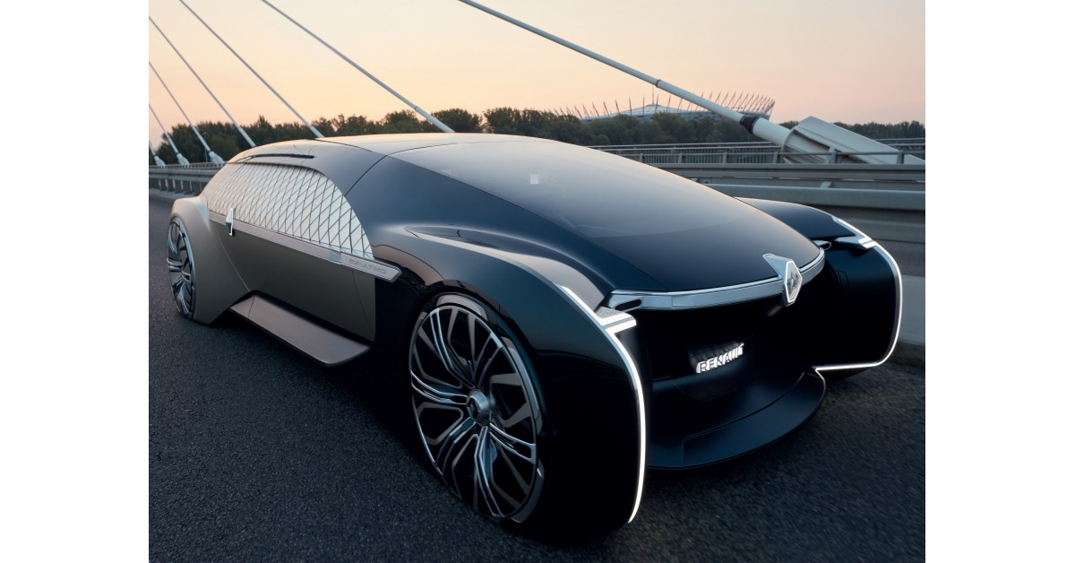 Renault EZ-Ultimo, conceptul de lux, complet autonom