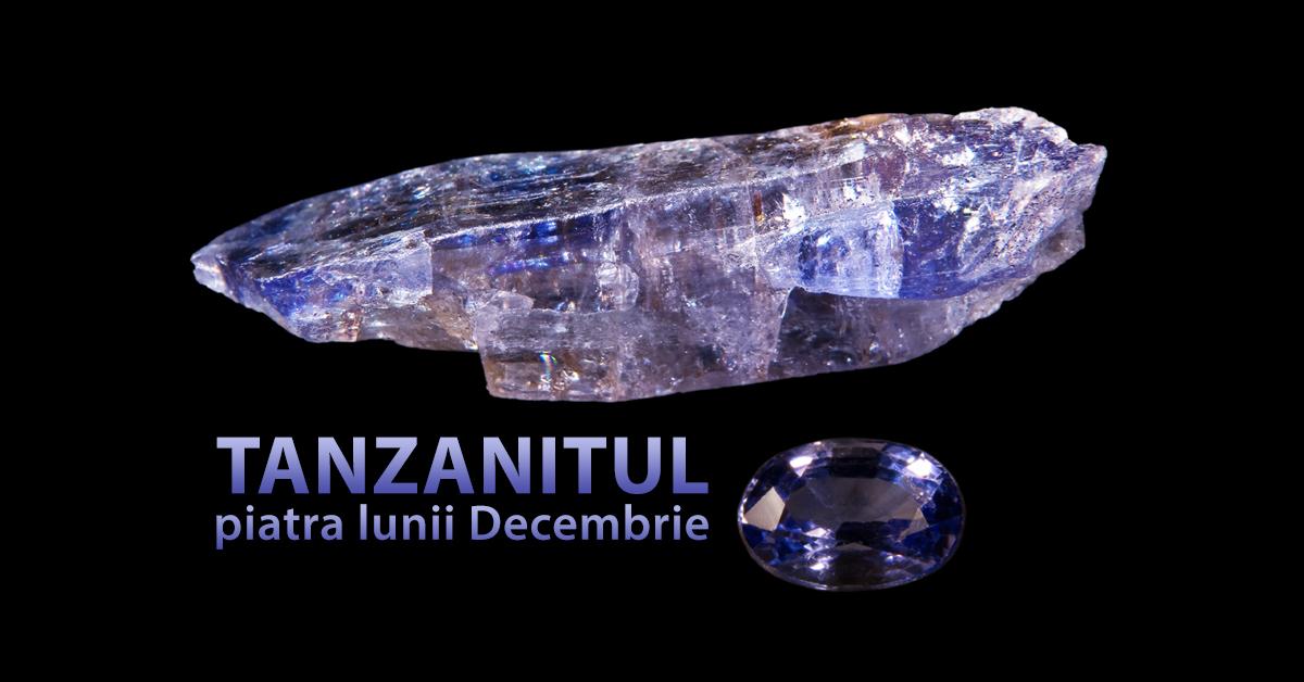 Tanzanitul – piatra lunii Decembrie