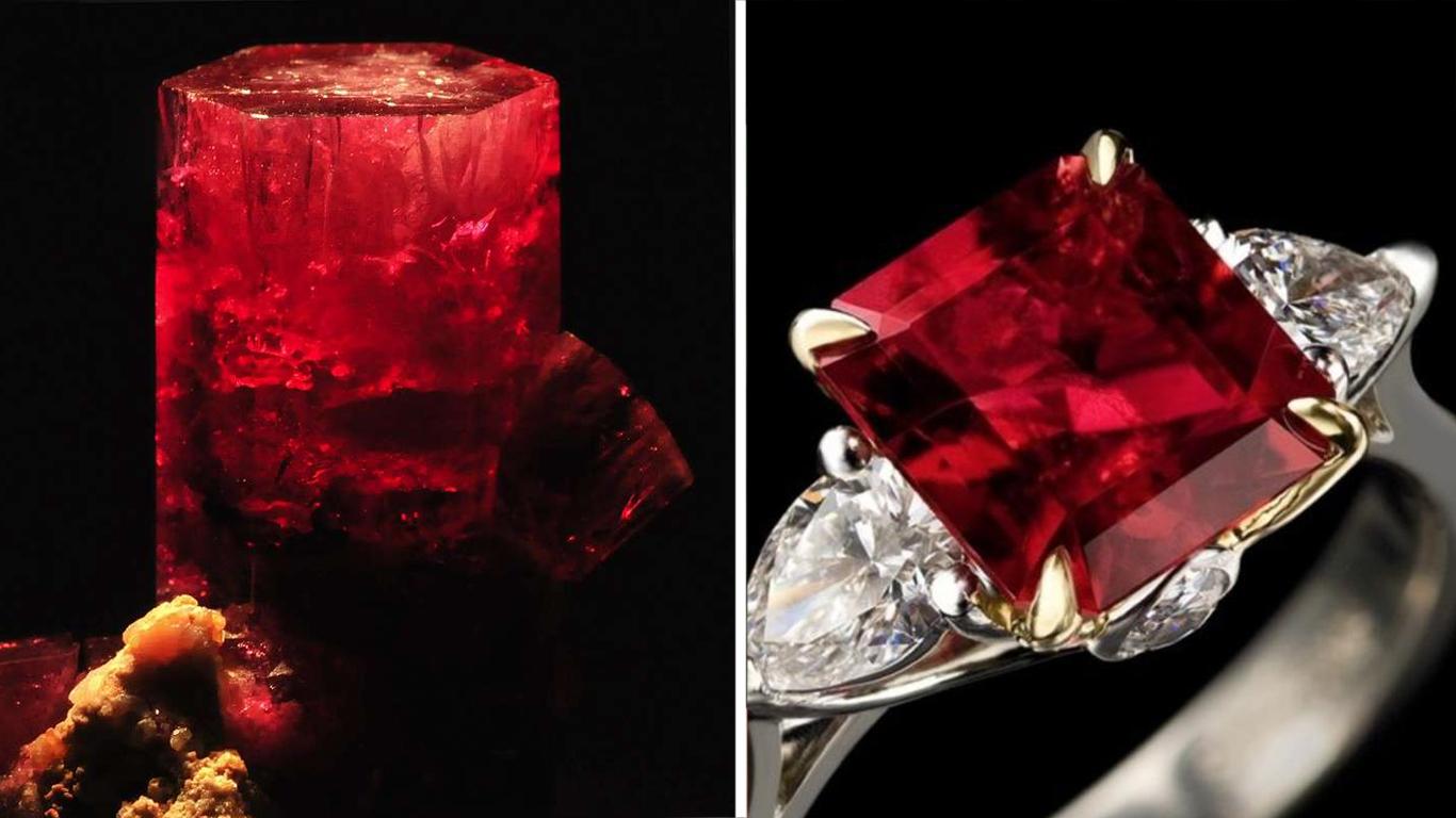Bijuterii cu alexandrit, ziua smaralde și noaptea rubine