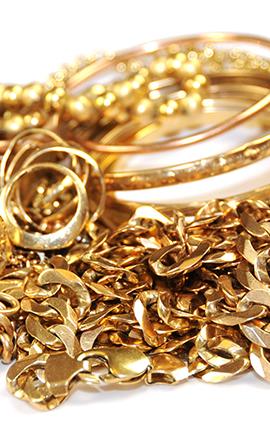 bijuterii din aur deteriorate
